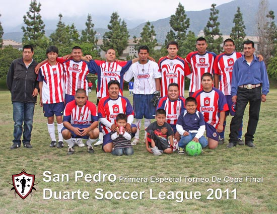 San Pedro Primera Especial 2nd Place Torneo De Copa/Cup Tournament